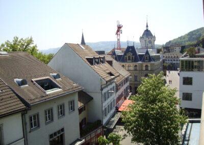 Über den Dächern von Baden, Zentrum für Wohlbefinden, Baden