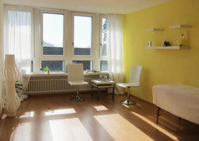 Raum von Sonja Schmid, Zentrum für Wohlbefinden, Baden