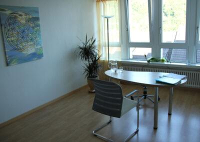 Raum von Irene Mehmann, Zentrum für Wohlbefinden, Baden