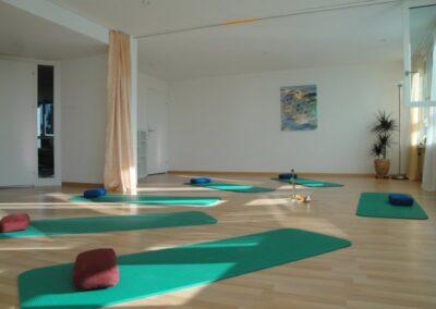Yogaraum, Zentrum für Wohlbefinden, Baden